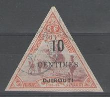 Côte Des Somalis:  N°33 Oblitéré         - Cote 37€ - - Côte Française Des Somalis (1894-1967)