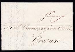 1829  Firmenbrief (Fried. Knorr & Sohn) Nach Gersau - Switzerland