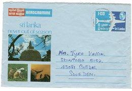 21646 - Aérogramme - Sri Lanka (Ceylon) (1948-...)