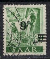SARRE             N°     YVERT    224       OBLITERE       ( Ob  5/27 ) - Gebraucht