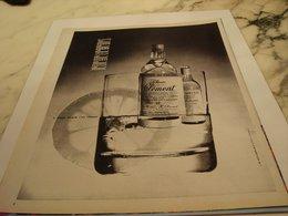 ANCIENNE PUBLICITE RHUM CLEMENT 1964 - Alcohols