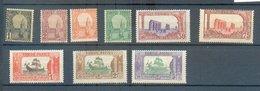 TUN 634 - YT 29-30-30A-31-36-39-39A-40-41 * - Tunisie (1888-1955)