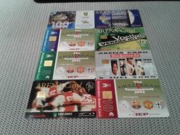 Netherlands - 8 Nice Stadium Chipcards - Paises Bajos