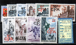 REUNION - CFA 320/30* (A Charnière)Manque 321 - Réunion (1852-1975)