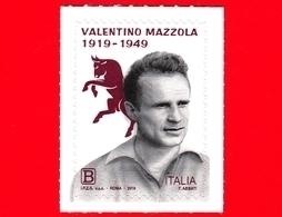 Nuovo - MNH - ITALIA - 2019 - 100 Anni Della Nascita Di Valentino Mazzola – Ritratto - Calcio - B - 1946-.. République