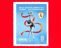 Nuovo - MNH - ITALIA - 2019 - 175 Anni Della Reale Società Ginnastica Torino - Sport - B 50 G - 6. 1946-.. Repubblica