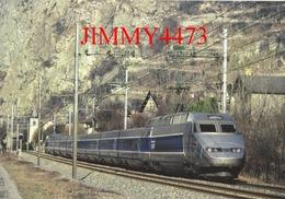CPM - TGV Bi-courant, Rames 4501 à 4530 - TGV Paris-Milan Passe Par Pontamafrey (73) - Photo Daniel RICHER - Edit. ACACF - Treni