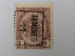 OCB 82 OCVB 1726 B Tamines 11 - Roulettes 1910-19