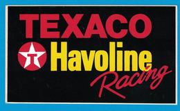 AUTOCOLLANT TEXACO HAVOLINE RACING - Autocollants