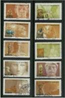 2007 Yt Adh 104 à 113 (o) Carnet Antiquité Complet - France