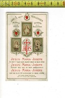KL 10121 - JEZUS MIJN VERLOSSER - JESUS MARIA JOSEPH - Santini