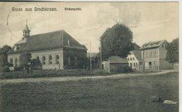 Gruss Aus Drochtersen V. 1907  Kirchpartie Mit Gasthof (57208) - Stade