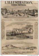 La Canée, Dans L'Ile De Candie - Page Original 1858 - Documents Historiques