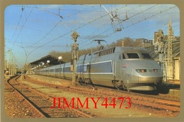 CPM - TEV - Trende Alta Velocidad - TGV-A/380 Série 301/395 - PAU (FRANCIA) Dic. 1994 - EDICIONES DEL TREN - ZARAGOZA - Trains