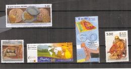 Sri Lanka - 2008 - 5 Different Commemorative Stamps - USED. ( Condition As Per Scan ). - Sri Lanka (Ceylon) (1948-...)