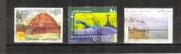 Sri Lanka - 2016 - 3 Different Commemorative Stamps - USED. ( Condition As Per Scan ). - Sri Lanka (Ceylon) (1948-...)