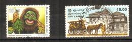 Sri Lanka - 2018 - 2 Different Commemorative Stamps   - USED.  ( Condition As Per Scan ). - Sri Lanka (Ceylon) (1948-...)