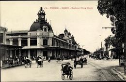 Cp Hanoi Tonkin Vietnam, Boulevard Dong Khanh - Viêt-Nam