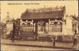 Cp Cholon Ville Vietnam, Pagode Phu Kieng - Viêt-Nam