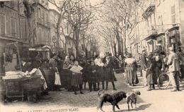 83 LA SEYNE SUR MER COURS LOUIS BLANC LE MARCHE BELLE ANIMATION - La Seyne-sur-Mer