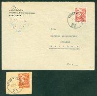 Yugoslavia 1955 1956 Bahnpost Railway Mail Ambulance Post Hodos - Maribor 84 Letter - Covers & Documents