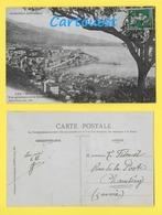 CPA ☺♦♦  MONACO - MONTE CARLO - VUE GÉNÉRALE ET LA CONDAMINE  ♦♦☺  1913 - La Condamine