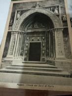 PESARO PORTONE CHIESA S MARIA DEI SERVI   VB1951 Coppia 3 LIRE DEMOCRATICA  HE319 - Pesaro
