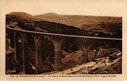 CPA Le MONASTIER - Le Viaduc De Recoumene Sur La GAZEILLE (166334) - Francia