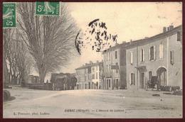 Gignac  Avenue De Lodève Animée - Hérault 34150 - Gignac Arrondissement De Lodève - Gignac