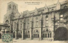 CPA Le VELAY Pittoresque - Claitre De La CHAISE-DIEU (170209) - La Chaise Dieu