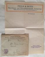 RAR Firmenbrief Fielk & Roth Sibiu Hermannstadt 1927 ! - Rechnungen