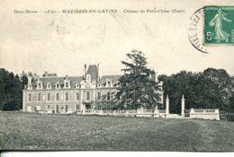 N°75377 -cpa Mazières En Gatine -château Du Petit Chêne- - Mazieres En Gatine