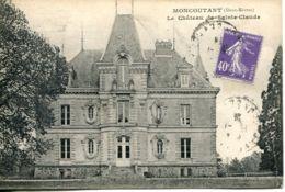 N°75378 -cpa Moncutant -le Château De Sainte Claude-y - Moncoutant