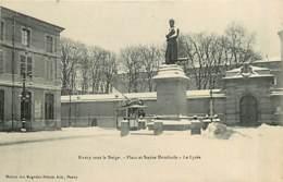 54* NANCY Place Dombasle – Neige                 MA93,1041 - Nancy