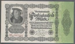 P79 Ro79d DEU-90d  - 50 000 Mark Impression Privée  UNC NEUF - [ 3] 1918-1933 : Repubblica  Di Weimar