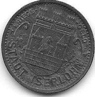 *notgeld Iserlohn 5 Pfennig  1917  Zn    6707.1 /  F228.1a - Autres