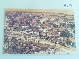 Singapore Vintage Old Reproduction Postcard - Aerial View From 16th Storey Cathay Building (#191) - Singapore