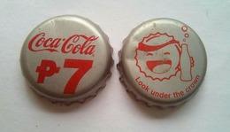 Coca Cola 7 Pesos And Look Under The Crown - Soda