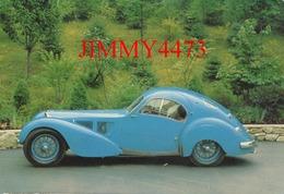 """CPM - 1936 BUGATTI 57 SC - ELECTRON """" Atlantic """" - Carrosserie Jean Bugatti - Toerisme"""