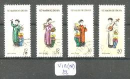 VIE(N) YT 247/250 Ob - Viêt-Nam