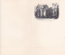 """Lot De 9 Feuilles """"""""  PAPIER A LETTRE """""""" ,de L' ABBAYE DE JUMIEGES ,yainville-jumieges(lot 455) - Historical Documents"""