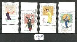 VIE(N) YT 258/261 Ob - Viêt-Nam