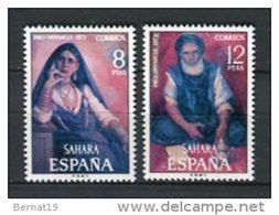 Sahara 1972. Edifil 306-07 ** MNH. - Sahara Spagnolo