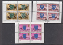 Jersey 1980 3 Booklet Panes ** Mnh (44487) - Jersey