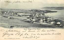 SUISSE - NEUCHATEL - SAINT BLAISE  ET LES ALPES - NE Neuchâtel