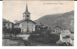 Cpa St Bon (Savoie) - L'Eglise . - Otros Municipios