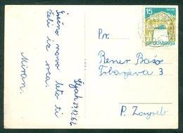 Yugoslavia 1962 Bahnpost Railway Mail Ambulance Post Nova Gorica - Sezana 96 'a' Jajce Pliva Waterfall Letter - Covers & Documents