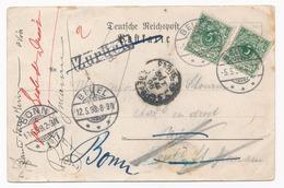 REICH - Postkarte Von BEUEL Nach PARIS Dd. 05-05-1898 - (ref. 1621). - Covers & Documents