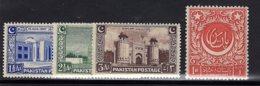 Pakistan, 1947, SG 20 - 23, Complete Set Of 4, MNH - Pakistan