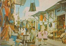 TUNISIE - TUNIS - Rue Jemaâ Ez-Zitouna - Rue Marchande - Souk - Ed. Sté Carthage - Tunisia